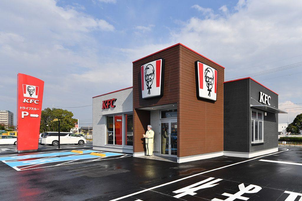 KFC四日市店